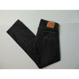 Levi's 514 34 X 34 Dark Gray Jeans Straight Pants